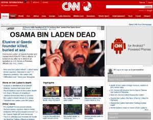 Usama bin Ladin je mrtev
