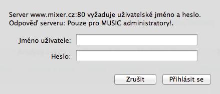 mixer.cz pred spustenim