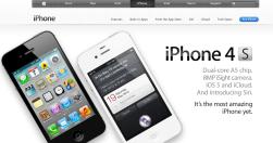 web Apple 18:55 - před uvedením iPhone5