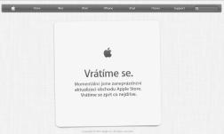 web Apple 19:02 - probíhá Keynote - představení iPhone5