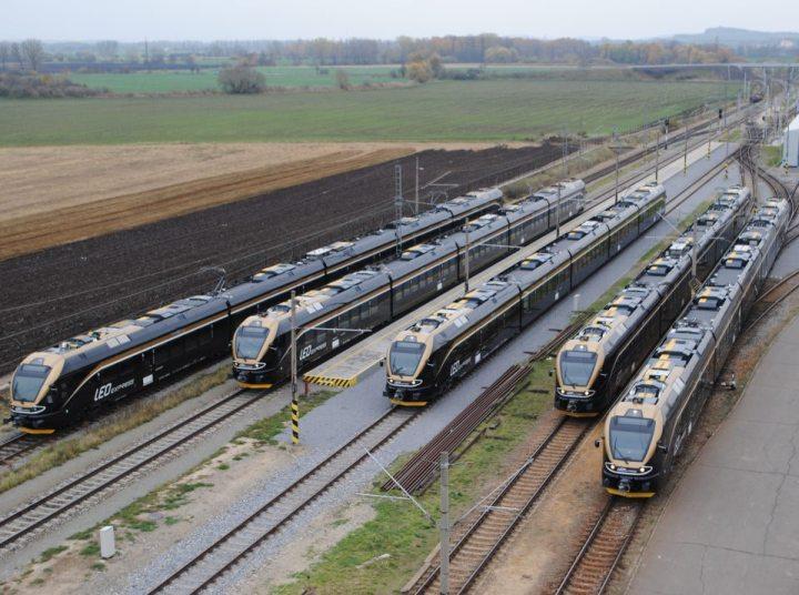 soupravy Leo Express