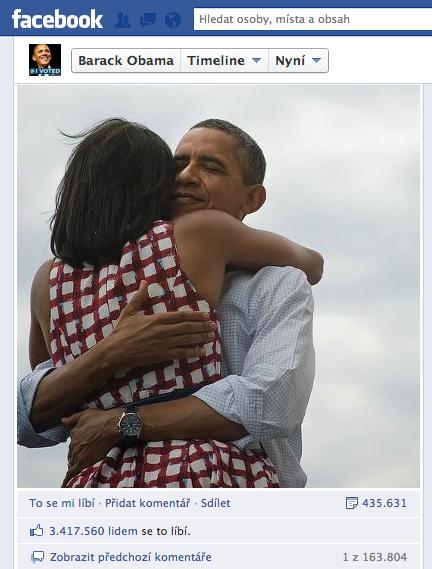 Barack Obama on Facebook