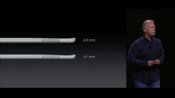 Nový iPad Pro - šířka