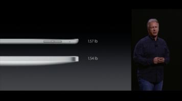 Nový iPad Pro - hmotnost