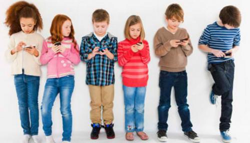 Děti a mobily